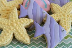 Under the sea cookies by Miss Biscuit | by Miss Biscuit