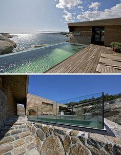 ocean home modern pool