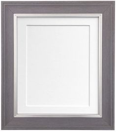 Vintage Charcoal Grey Photo Frame with Mounts in Various Colours AP-4620