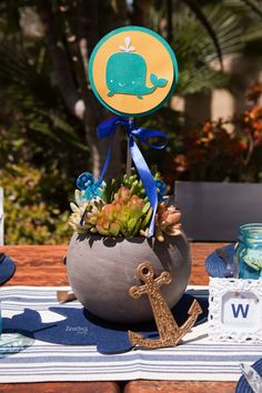 is a baby soon arriving into this world? If so, take a look at these nautical baby shower ideas that are out of this world and are. Nautical Baby Shower Decorations, Fiesta Decorations, Nautical Party, Baby Shower Gender Reveal, Baby Boy Shower, Baby Shower Gifts, Baby Party, Baby Shower Parties, Baby Showers
