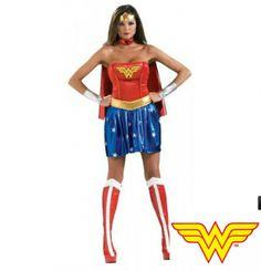 #Disfraz de Wonder woman adulto. Wonder woman costume #superhero http://www.leondisfraces.es/producto-1254-disfraz-de-wonder-woman-adulto