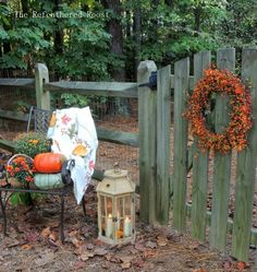 FALL AT THE BACK GATE: preserving bittersweet wreaths with hairspray