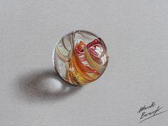 Marble ball by marcellobarenghi.deviantart.com on @deviantART
