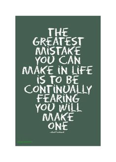 Mistakes are apart of life. You can't fear them. That is why it falls under personality and attitudes.