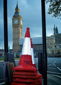 London Traffic Cones This is YOUR very own Fully-Automated commission system! PLUS:As a Fast Money ATM Member, youll earn HUGE Commissions with your affiliate link! Please Click: www. Earn Money Fast, Cone, London Photos, Big Time, Work From Home Jobs, Big Ben, Online Business, Red And White, Building