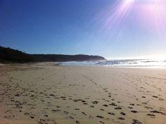 Alexander Bay Noosa Heads, 830am WINTER - empty!