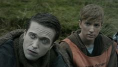 Simon Monroe and Kieren Walker from In the Flesh BBC. Simon is such a lovely creep. Princess Star, The White Princess, Horror Movie Characters, Fictional Characters, Tv Static, It Crowd, Mr Robot, Character Makeup, I Series