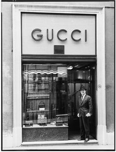 The Gucci store in Florence, in the 1950s
