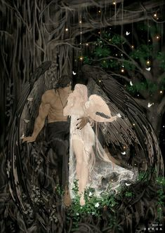 Hades y perséfone, hades and persephone, fantasy love, dark fantasy, fantasy art Fantasy Love, Dark Fantasy Art, Fantasy Artwork, Fantasy Couples, Dark Art Drawings, Ange Demon, Hades And Persephone, Angel And Devil, Fantasy Kunst