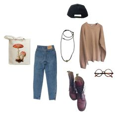 """""""love is a losing game (music tag)"""" by tristful ❤ liked on Polyvore featuring Dr. Martens, Retrò, Stussy, 1928, women's clothing, women's fashion, women, female, woman and misses"""