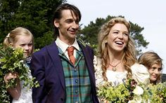 Honeysuckle Weeks (Foyles War fame) and Lorne Stormonth-Darling. Their 2nd wedding in 2007 took place 2yrs after their private Buddhist ceremony.
