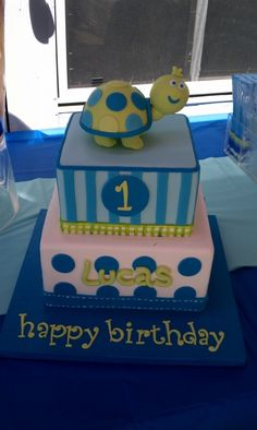 Happy 1st Birthday Lucas!