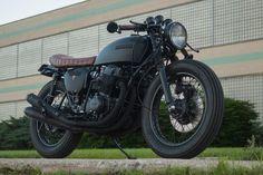 "1976 HONDA CB750K ""WABI-SABI"" CAFE RACER http://www.powdermonkees.com/motorcycles/"
