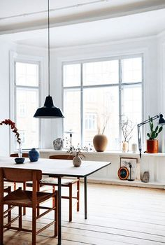 great dane style in copenhagen high ceilings large light filled rooms and a spattering of mid century cool this is the fab home of karen maj kornum