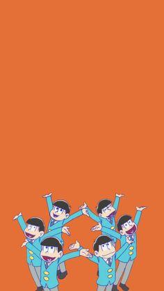おそ松さん28/六つ子大集合 iPhone壁紙 Wallpaper Backgrounds iPhone6/6S and Plus おそ松カラ松チョロ松一松十四松トド松 人気のおそ松さんグッズをチェック