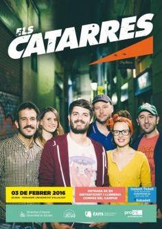 Arranca la programación cultural de la UA con el concierto de Els Catarres. Agenda cultural UA: http://veu.ua.es/es/noticias/2016/1/vuelve-acua-danza-cine-teatro-musica-y-exposiciones-de-febrero-a-junio.html