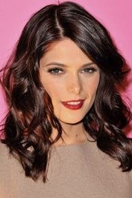 red lowlights in brown hair - Google Search