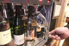 Wine Vending Machines Have Arrived at Paired Wine in Boystown -  And that's not the only space-age wine-guzzling aid the shop has added lately.