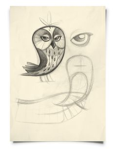 Owls on Behance