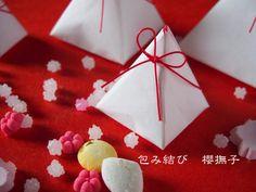 コラムLatte掲載〜折形からヒントを得た和紙のお菓子包み〜 | 包み結び 櫻撫子のブログ