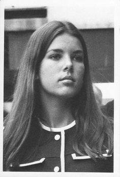 Young Princess Caroline de Monaco