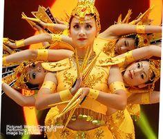 Amazing Asian dance