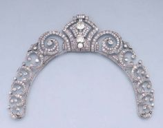 Cartier diamond tiara. 1929