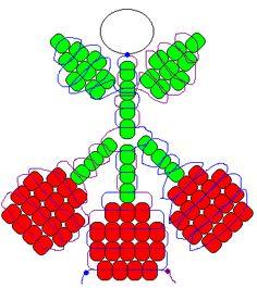 Cherries pony bead pattern