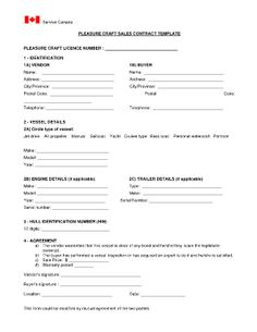 Free Colorado Boat Bill Of Sale Form  Word  Pdf  Eforms  Free