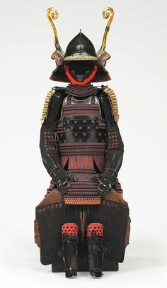 A purple laced okegawa torikoshi do gusoku (armor). EDO PERIOD (17TH-18TH CENTURY)