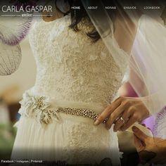 Confira mais fotos no nosso site: www.carlagaspar.com.br  Atelier Carla Gaspar wedding dress <3