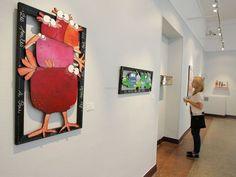 """Sofie Chèze, exposition """"Happy Art"""" au musée des Beaux-Arts de Pau"""