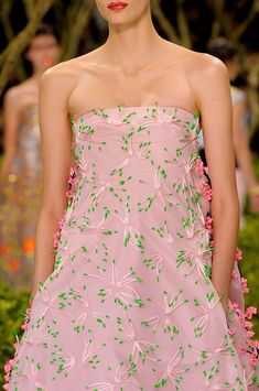 ♥ Christian Dior at Couture Spring 2013 - StyleBistro
