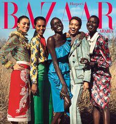 Harpers Bazaar Arabia April 2017 by Silja Magg