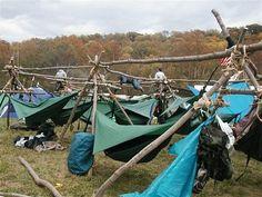 various portable hammock stands & DIY asymmetrical Hammock Tent with Tarp ( homemade hammock tent ...