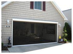 garage door screen garage screens panorama retractable screens - Screen For Garage Door