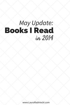 2014 - Books Read - May Update