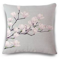 SHARE & Get it FREE | Sweet Spring Scenery Light Purple Flower Design Flax Sofa Pillow CaseFor Fashion Lovers only:80,000+ Items • New Arrivals Daily • Affordable Casual to Chic for Every Occasion Join Sammydress: Get YOUR $50 NOW!