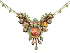 Michal Negrin - she was making statement necklaces before they were trendy.