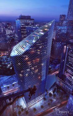 ♀ Modern architecture - RIYADH   KAFD World Trade Centre   303m   994ft   67 fl   U/C - SkyscraperCity