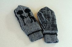 The Fuzzy Square: Best of Radiohead Mittens Knitting Pattern
