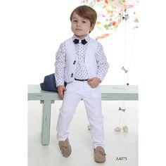 Βαπτιστικά Ρούχα Mi Chiamo - Ενδύματα Υψηλής Ποιότητας Michiamo - ΒΑΠΤΙΣΤΙΚΑ ΡΟΥΧΑ - ΒΑΠΤΙΣΤΙΚΑ ΡΟΥΧΑ Toddler Vest, Boy Fashion, Mens Fashion, Page Boy, Summer Collection, White Jeans, Spring Summer, Boy Boy, Boys