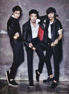 CNBLUE for Ceci Magazine January 2013 Issue ~ Latest K-pop News - K-pop News | Daily K Pop News
