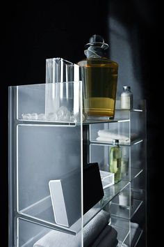 Kartell Sound-Rack Shelf by Ludovica and Roberto Palomba.