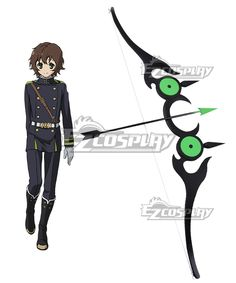 Seraph of the End Vampire Reign Owari no Serafu Yoichi Saotome Bow And Arrow…