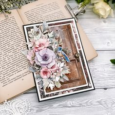 Shabby Chic Cards, Paper Cards, Handmade Cards, Stampin Up, Mixed Media, Scrapbooking, Photo And Video, School, Spring