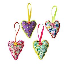 Bombay Duck Ditsy Floral Hanging Heart Decorations - Set of 4 Bombay Duck http://www.amazon.co.uk/dp/B00QAGYM8O/ref=cm_sw_r_pi_dp_5Lzwwb1JH68ZK