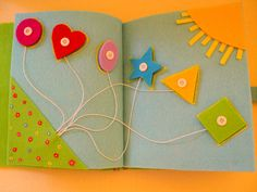 Quiet book by Hartandmore on Etsy                                                                                                                                                                                 More