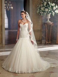 Style No. 213244 » David Tutera for Mon Cheri»wedding dresses 2013 and bridal gowns 2014