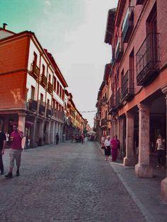 Calle Mayor, Alcala de Henares.